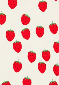 Mini Rodini - STRAWBERRY TEE UNISEX - Print T-shirt - offwhite - 2