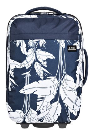 ROXY™ FEEL THE SKY 35L - HANDGEPÄCKSKOFFER MIT ROLLEN ERJBL03193 - Wheeled suitcase - mood indigo flying flowers s