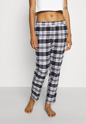 MIX & MATCH TAPERED TROUSER  - Pyjamahousut/-shortsit - black