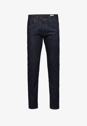 Straight leg jeans - dark blue denim