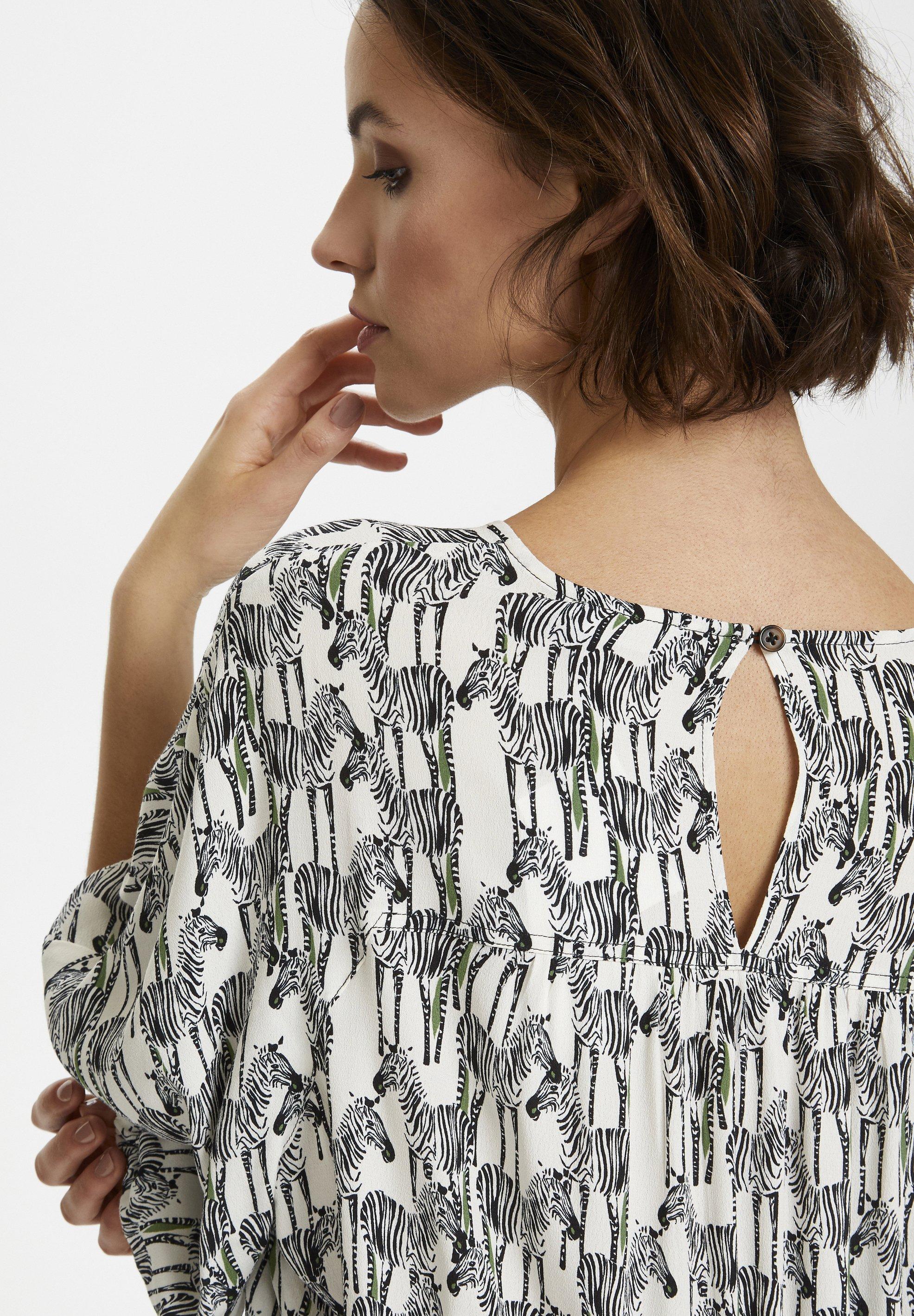 Soaked in Luxury SERRAS - Robe d'été - zebra animal - Robes femme JkAEu