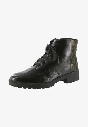KISS - Lace-up ankle boots - schwarz/africa