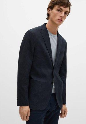 ANETO - Blazer jacket - dunkles marineblau