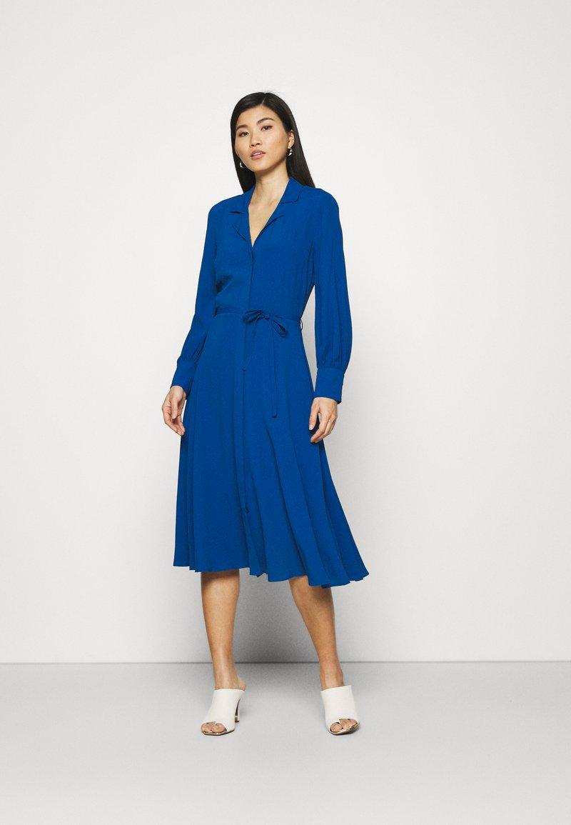 Marks & Spencer London - SHIRT DRESS - Vestido camisero - blue