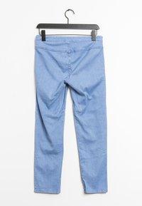 Vila - Trousers - blue - 1