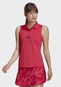 adidas Performance - TENNIS MATCH TANK TOP HEAT RDY - Polo shirt - pink - 0