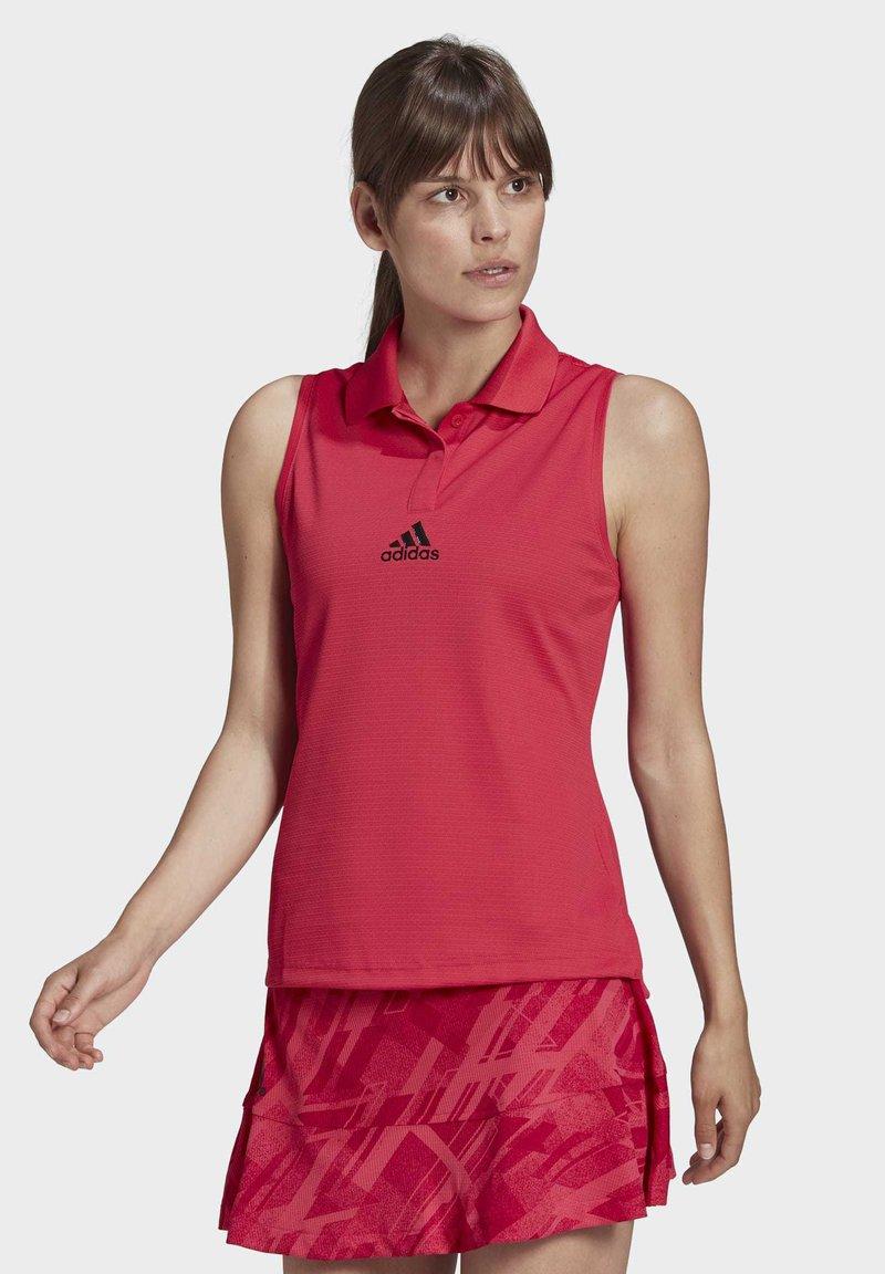 adidas Performance - TENNIS MATCH TANK TOP HEAT RDY - Polo shirt - pink