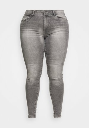 CARSALLY LIFE - Skinny džíny - medium grey denim