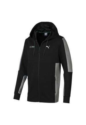 AMG PETRONAS  - veste en sweat zippée - black