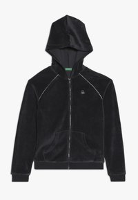 Benetton - JACKET HOOD - Mikina na zip - grey - 0