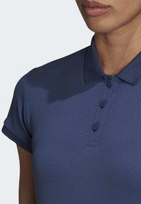 adidas Performance - CLUB POLO SHIRT - Polo shirt - blue - 5