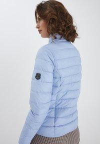 Fransa - Winter jacket - brunnera blue - 2