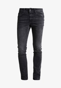 TOM TAILOR DENIM - CULVER  - Slim fit jeans - dark stone black denim - 5