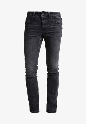 CULVER  - Slim fit jeans - dark stone black denim