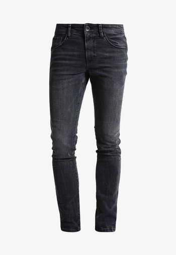 CULVER  - Slim fit jeans - dark stone black denim
