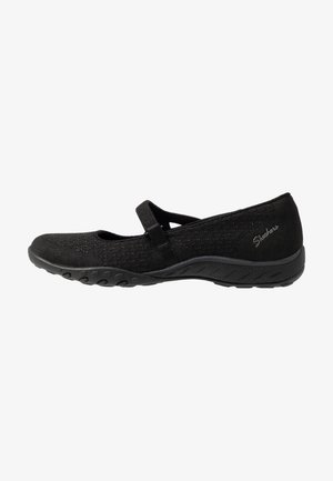 BREATHE-EASY - Ballerina med reim - black