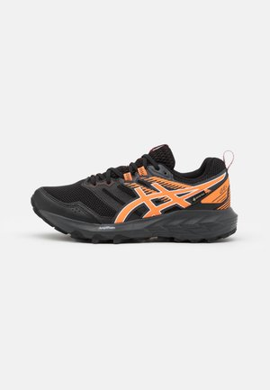 GEL SONOMA 6 GTX - Trail running shoes - black/sun peach