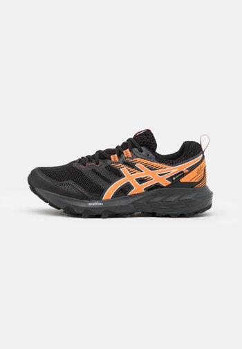 GEL SONOMA 6 GTX - Zapatillas de trail running - black/sun peach