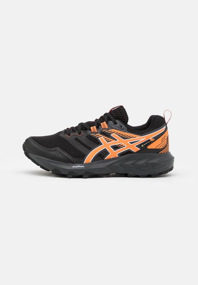 GEL SONOMA 6 GTX - Trail running shoes - black/sun peach