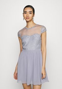 Nly by Nelly - DREAM ON DRESS - Cocktail dress / Party dress - dusty blue - 0