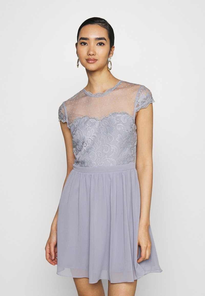 Nly by Nelly - DREAM ON DRESS - Cocktail dress / Party dress - dusty blue