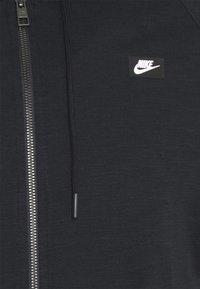 Nike Sportswear - HOODIE - Tröja med dragkedja - black - 7