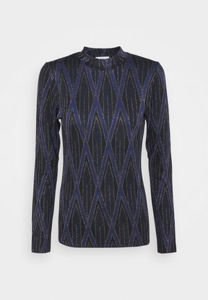 ATTACK - Long sleeved top - blue