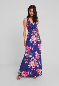 Anna Field - Day dress - white/light pink/dark blue - 2