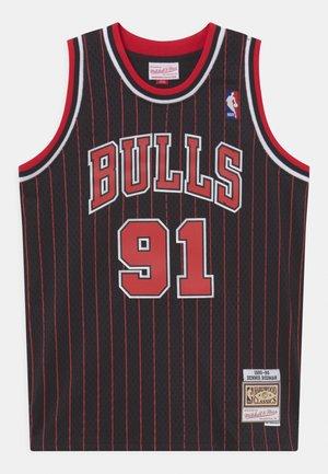 NBA CHICAGO BULLS DENNIS RODMAN UNISEX - Article de supporter - black
