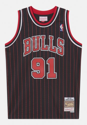 NBA CHICAGO BULLS DENNIS RODMAN UNISEX - Club wear - black