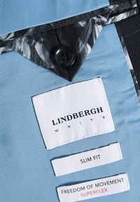 Lindbergh - CHECKED SUIT - Completo - black - 8