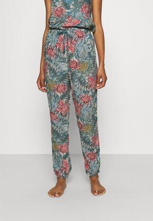 PANT VIS DAHLIA JUNGLE - Bas de pyjama - green