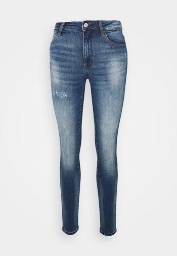 SEXY CURVE - Jeans Skinny Fit - darkblue denim