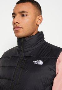 The North Face - ACONCAGUA VEST - Waistcoat - black/white - 7