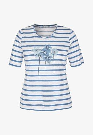 ELEMENTS - Print T-shirt - washed denim