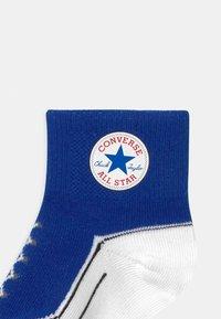 Converse - CHUCK INFANT TODDLER QUARTER 3 PACK UNISEX - Socks - converse blue - 2