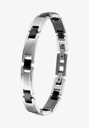 Bracelet - zilverkleurig/zwart