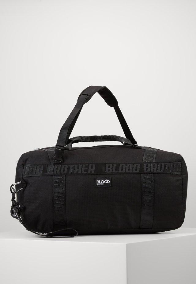 TRACK GYM BAG IN - Torba sportowa - black