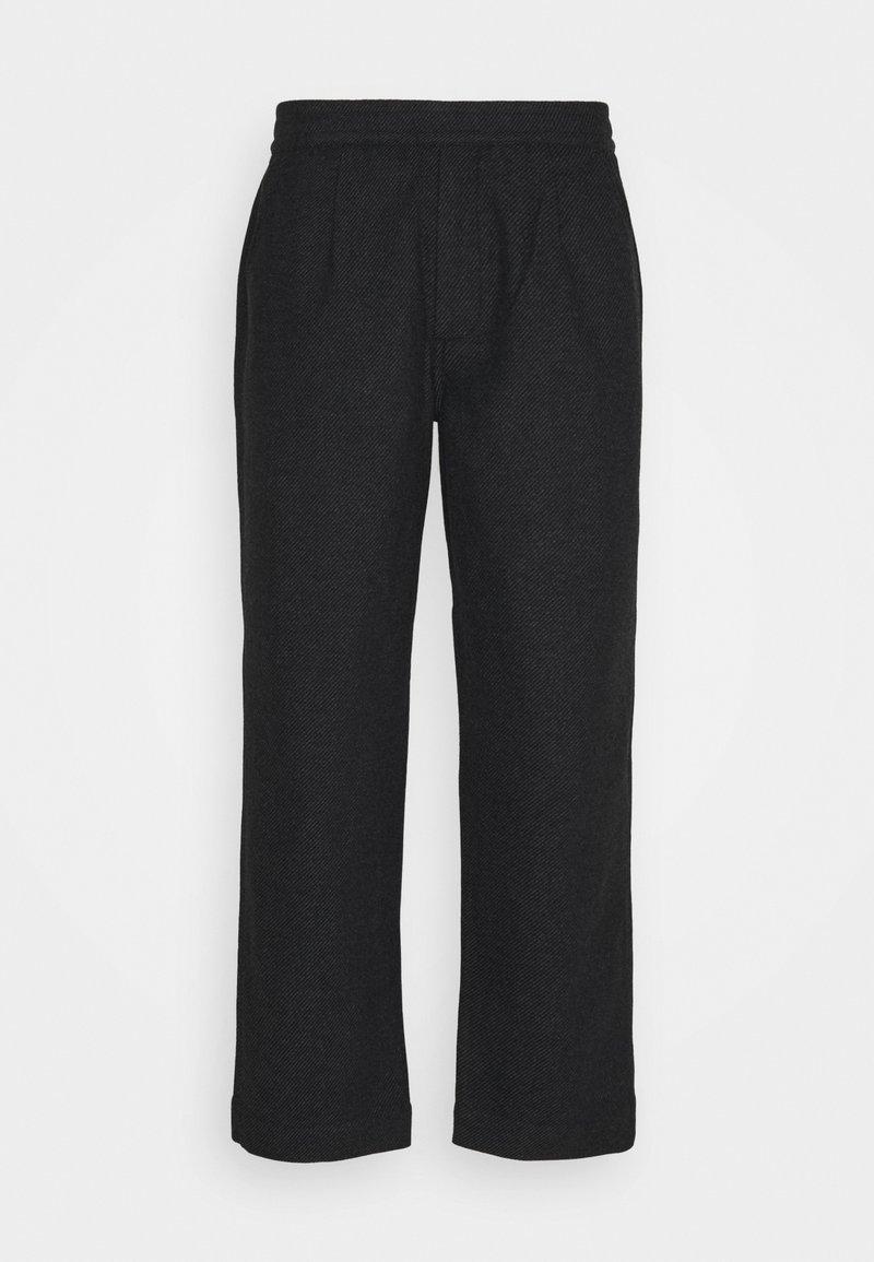 Folk - ALBER PANT  - Pantalon classique - charcoal