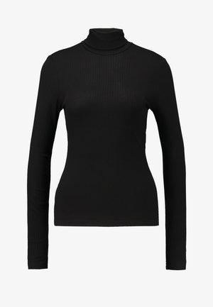 ELIN - Top sdlouhým rukávem - black dark