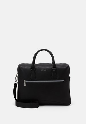 SCALA BRIEFCASE UNISEX - Stresskoffert - black