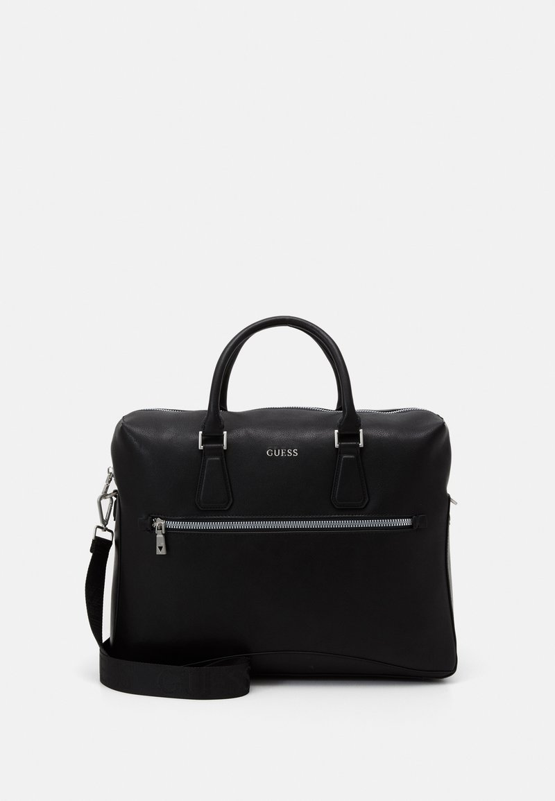 Guess - SCALA BRIEFCASE UNISEX - Briefcase - black