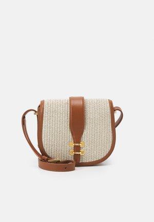 SHOULDER BAG - Across body bag - beige