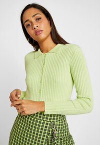 Monki - VILLYS - Neuletakki - light green