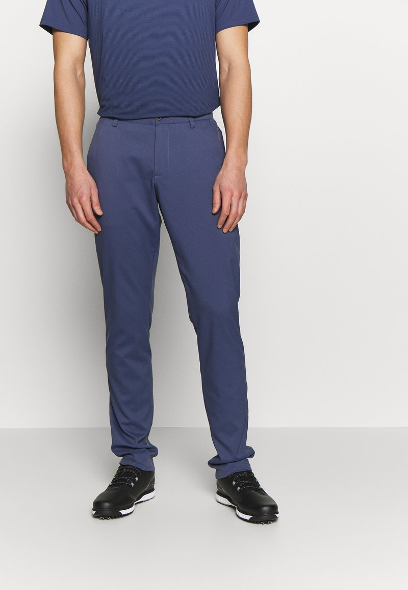 Under Armour - TAKEOVER GOLF PANT TAPER - Chino kalhoty - blue ink
