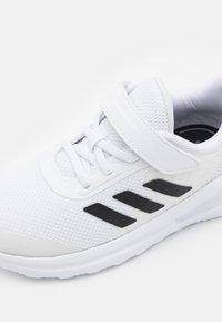adidas Performance - FORTARUN UNISEX - Neutral running shoes - footwear white/core black - 5
