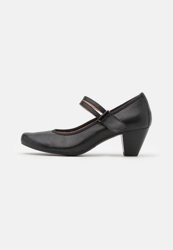 SLIP ON - Classic heels - black