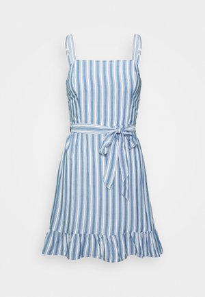 VOL DRIVE BARE DRESS - Day dress - blue