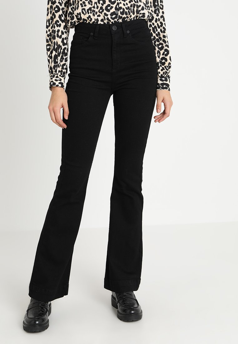 BDG Urban Outfitters - FLARE - Jean flare - black
