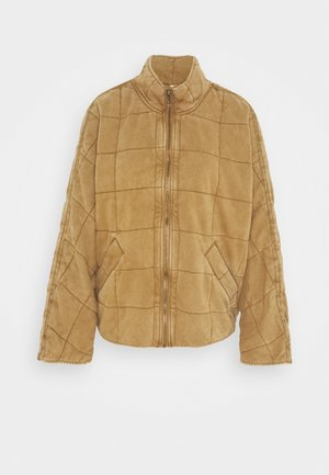 DOLMAN QUILTED - Light jacket - toasted coconut